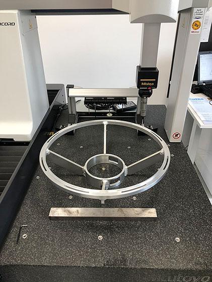 MEVOR Metallbearbeitung und Vorrichtungsbau GmbH - präzise Messung mit 3D Koordinatenmessmaschine