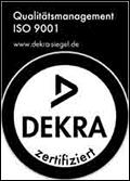 DEKRA-Zertifikat ISO 9001