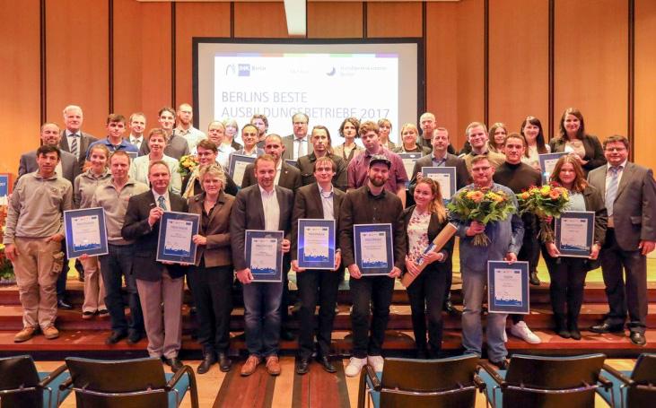 MEVOR Metallbearbeitung und Vorrichtungsbau GmbH - Auszeichnungen der IHK und des Wirtschaftskreises Pankow
